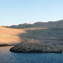 Sjeverna strana otoka Paga (Izvor: Wikimedia Commons)