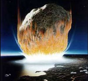 Udar meteorita (Izvor: Nasa)