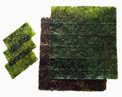 Nori alga (foto: Wikimedia Commons)