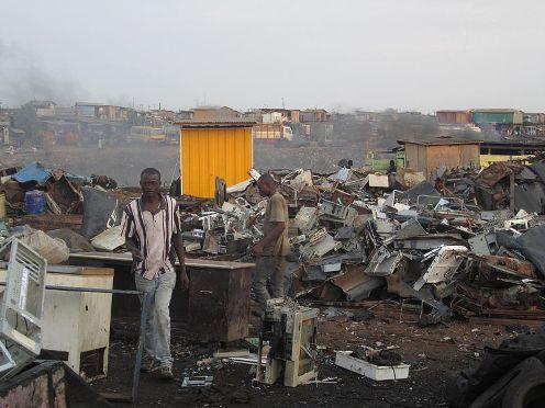 Agbogbloshie (foto: Wikimedia Commons)